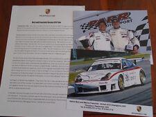 Porsche 911 British GTO Champions 2001 brochure 2 colour photos