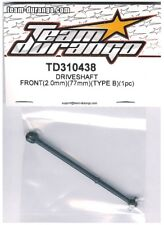 RC Team Durango TD310438 DRIVESHAFT Front 2mm 77mm TYPE B DEX410 Buggy DEX410R