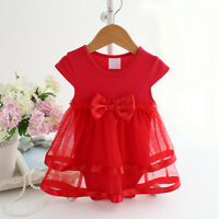 Baby Girl Clothes Newborn Kids Bebe Princess Tutu Bodysuit Playsuit Romper Dress