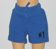 New BABY GAP Size 0-3 Months Boys Radiant Blue Shorts