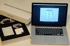 "Apple MacBook Pro Retina 15"" 2015 2.5GHz i7, 16, 512 SSD, Radeon R9, NEW BATTERY"