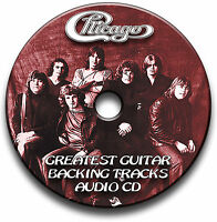 CHICAGO STYLE ROCK GUITAR BACKING TRACKS AUDIO CD ANTHOLOGY JAM TRAXS