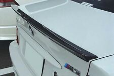 Carbon BMW E46 Trunk Deck Lip Spoiler OE Type 3 Series OE Type Sedan 1999-2005