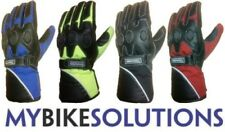 New Motorcycle Bike Reflex Leather Textile Waterproof Winter soft knuckle Gloves