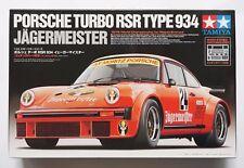 TAMIYA 1/24 Porsche Turbo RSR Type 934 Jagermeister w/ photo-etched parts model