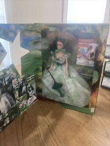 1994 Mattel Barbie Hollywood Legends Gone With The Wind Scarlett O'Hara Doll MIB