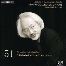 Masaaki Suzuki, J.S. Bach - Cantatas 51 [New SACD] Hybrid SACD
