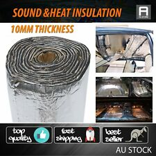 2M x 1M Automotive Bonnet Heat Sound Shield Proof Deadener Foam 10mm Thickness