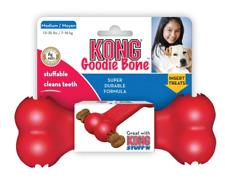 KONG Classic Goodie Bone Dog Treat Dispenser Tough Rubber Chew Toy
