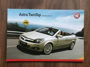 Vauxhall Astra TwinTop Car Brochure 2008