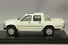 1/43 Hi Story GICO Model Toyota Hilux 4WD Pick Up Truck SSR-X 1992 White NEW!
