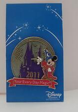 2011 Disney Rewards Visa Your Every Day Magic Sorcerer Mickey Pin