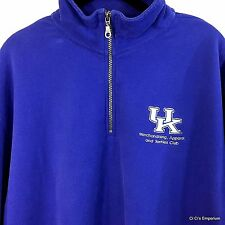 University of Kentucky MAT Club Popover L 1/4 Zip Merchandising Apparel Textiles