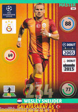 2014/15 Adrenalyn XL Champions League GALATASARY AS Wesley Sneijder MASTER