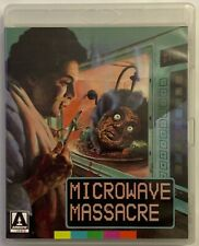 MICROWAVE MASSACRE SPECIAL EDITION BLU RAY DVD 2 DISC SET + BOOKLET ARROW VIDEO