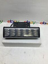Federal Signal Cuda Trioptic Model 352022f Series A Led Light W Bracket