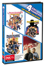 POLICE ACADEMY Complete Collection DVD Films 5, 6, 7 + Cop Out Movies R4