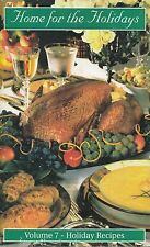HOME FOR THE HOLIDAYS VOL. 7 VFW COOKBOOK RECIPES FOR SHARING WITH FRIENDS, VETS