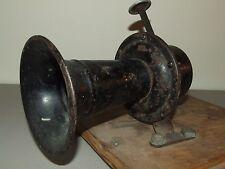 Antique  c.1900 Mechanical Car Auto Automobile Horn - Stewart Warning Signal P-6