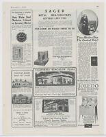 1922 Toledo Cookstove Advertisement: Toledo Cooker Co., Toledo, Ohio