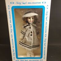 """Vintage Ideal 1982 Shirley Temple Doll 11"""" Dimples Mint in Box"""