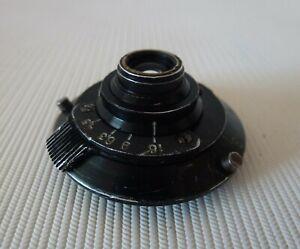 Soviet Russian Lens A-4 For Spy KGB AJAX-9/ F21 camera 28mm f/4.5 #003797