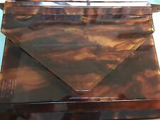 Aut Fendi  Vintage Turtle Colour Handbag  Made in Italy