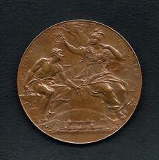 FRENCH / 1889 EXPOSITION UNIVERSELLE PARIS / BRONZE MEDAL BY LOUIS BOTTÉE  M.29