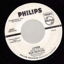 HEAR! Popcorn Promo 45 BOB NEWKIRK Lover on Philips (promo)
