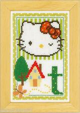 Vervaco 0149582 Alfabeto Hello Kitty - Letra T Kit contado