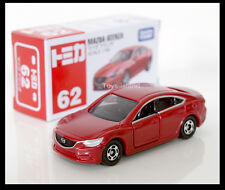 TOMICA #62 MAZDA 6 ATENZA 1/66 TOMY 2013 October New Model Red Diecast Car