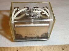 Philips Sylvania RLY2363 ECG 4PDT 10A RELAY COIL 24VDC