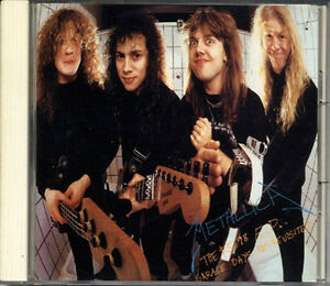 METALLICA $5.98 EP Garage Days Re-Revisited JAPAN 1988 CD 23DP5235 RARE!