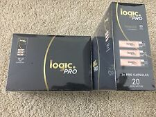 2 Boxes Logic PRO Refills 20mg  Capsules- (60 COUNT)