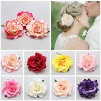 Pinz Horquilla De Pelo Flor Rose Clip Broche De Cabello boda novia Hairpin