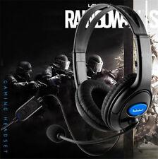Neu Headset Kopfhörer für Play Station 4, Ultra Leicht & Sensitive Mikrofon