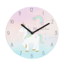 Magical Unicorn 'Rainbow Hair' Children's Gift - Bedroom Clock