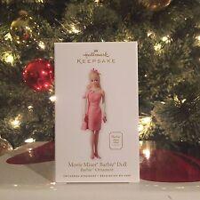 "Hallmark Keepsake ""Movie Mixer Barbie Doll"" 2010 Barbie Ornament (New in Box)"