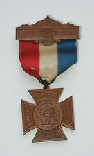 1880s CIVIL WAR GAR Woman's Relief Corps MEDAL with ribbon Vintage