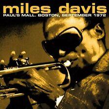 Miles Davis - Paul's Mall, Boston, September 1972 (2015)  CD  NEW  SPEEDYPOST