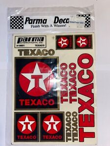 "Parma International Decal ""TEXACO"" #10651"