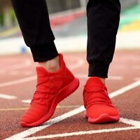 US Men's Running Shoes Breathable Mesh Sneakers Sport Casual Athletic