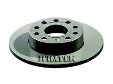 VW JETTA 1K 2x Brake Discs (Pair) Solid Rear 05 to 10 256mm Set 1K0615601AC New