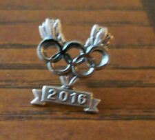 2016 Gold, Silver And Bronze Medalist Lapel Pins From Ioc.Very Rare