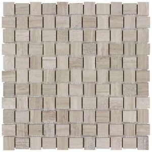 Classic Mosaic Tan Natural Stone Backsplash Tile Kitchen Bathroom Wall MTO0030