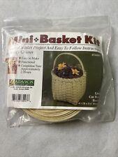Jadvick Basket Weaving Kit Little Cat Head #73097 Mini Basket