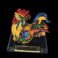 "Vintage Rooster Figurine Made In Vietnam 2.75""T 2.5""W"