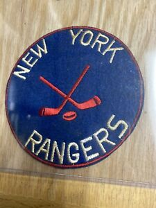 1940's Vintage New York Rangers Patch 5 Inch