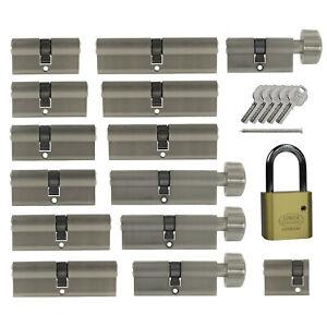 Schließanlage nach Wunsch kombinieren gleichschließend Profil +10 Schlüssel