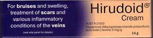 HIRUDOID CREAM  14G Best Price Guaranteed